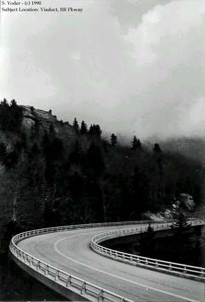 Linn Cove Viaduct 1990